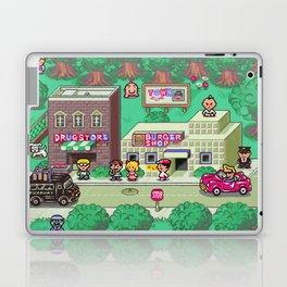Earthbound town Laptop & iPad Skin