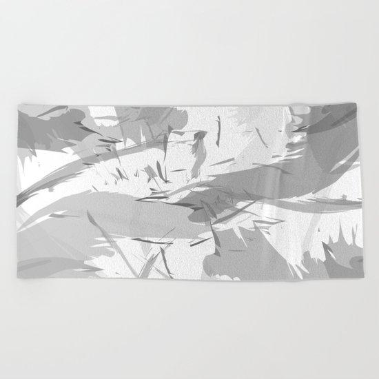Abstract composition. Creative chaos Beach Towel