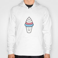 ice cream Hoodies featuring Ice Cream by .....