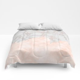 Rosette Marble Comforters