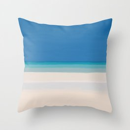 Dreamt Tropical Beach Design Throw Pillow