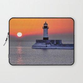Duluth Harbor North Breakwater Lighthouse Laptop Sleeve