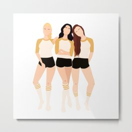 Riverdale Gals Metal Print