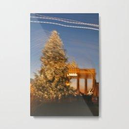 Christmas at Brandenburger Tor Metal Print