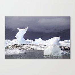 Glacier Lagoon Iceland Canvas Print