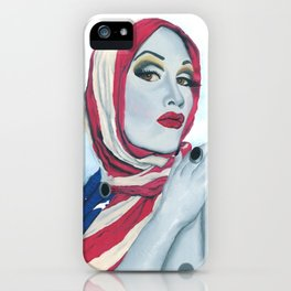 American Ladyboy iPhone Case