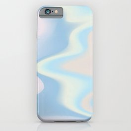holographic modern pattern iPhone Case