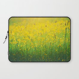 Field green yellow Laptop Sleeve