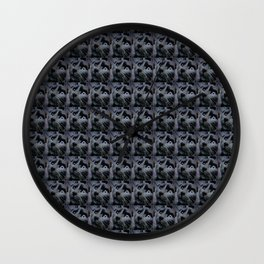 Smokey the Cat in Action Wall Clock