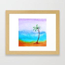"""Ghost Tree, #13"" Painting Framed Art Print"
