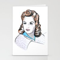 minnie Stationery Cards featuring Minnie by Christie  Elise