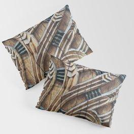A Maori Carving Pillow Sham