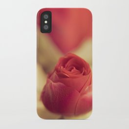 A red rose for your sweetheart ... iPhone Case