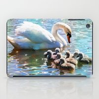 aelwen iPad Cases featuring CYG-NIFICANT by Catspaws