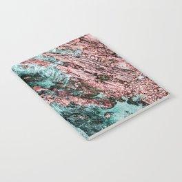 Ocean Print, Aerial Photography, Beach Print, Drone Photography, Ocean Waves, Teal Landscape, Aerial Notebook