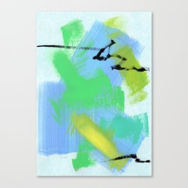 Believe Your Paths no.13 - abstract painting modern Canvas Print