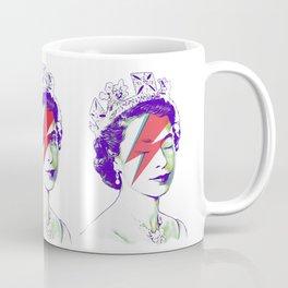 Queen Elizabeth / Aladdin Sane Coffee Mug