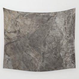 Rough Eurasia Stone - Gray Wall Tapestry