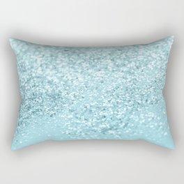 Pastel Blue Glitter Dream #1 #shiny #decor #art #society6 Rectangular Pillow