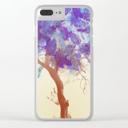 Water Your Tree of Life. Clear iPhone Case