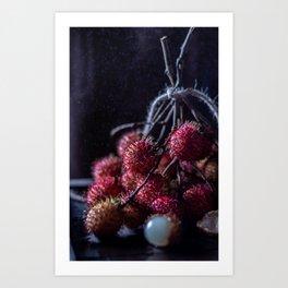 Rambutan Art Print