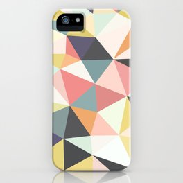 Deco Tris iPhone Case
