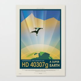 HD 40307g - Exoplanet Series Canvas Print
