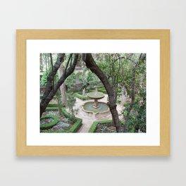 La Alhambra de Granada Framed Art Print