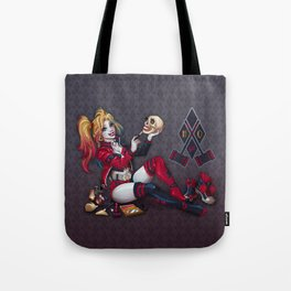 Red White and Navy Tote Bag