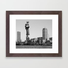 The Tourist Framed Art Print
