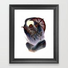 Mi- Go Framed Art Print