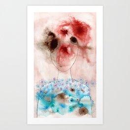 Head Vs. Heart Art Print