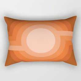 Moonspot - Red Rock Rectangular Pillow