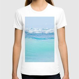 Kapukaulua Pure Blue Surf T-shirt
