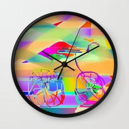 THE RICKETY BIKE Wall Clock