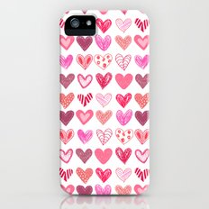 Many Hearts iPhone (5, 5s) Slim Case