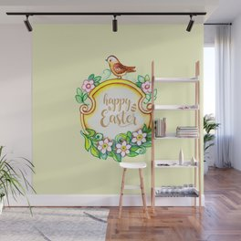 HAPPY EASTER Wall Mural