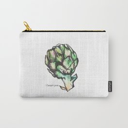 Artichoke: I Heart You Carry-All Pouch