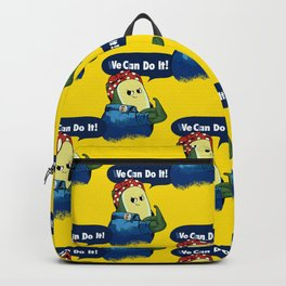 Vegan do It Avocado Backpack