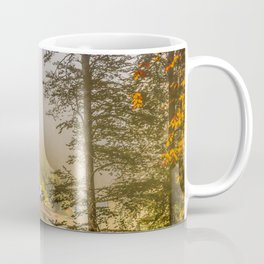 Mountains in the mist Coffee Mug