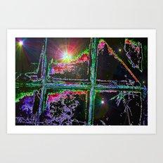 Window To The Stars Art Print