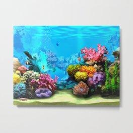 Marine Life Metal Print