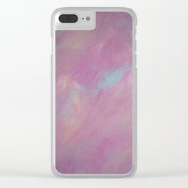 Abstract acrylic painting 32 Clear iPhone Case