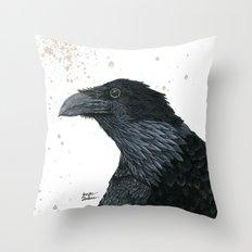 Raven Croft 2 Throw Pillow