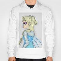 frozen elsa Hoodies featuring Elsa by _littlevoice