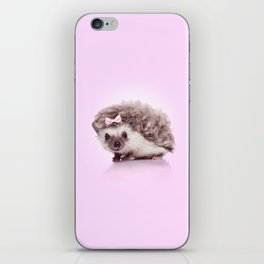 Curvy hedgehog iPhone Skin