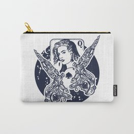 Queen playing card Carry-All Pouch
