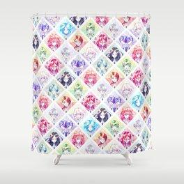 Houseki no kuni - Infinite gems Shower Curtain