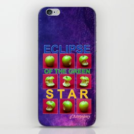 Eclipse Of The Green Star iPhone Skin