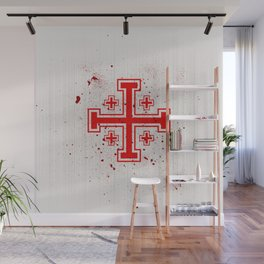 The Crusades Bloody Knight Templar Wall Mural